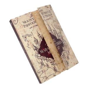 Carnet de Notes Harry Potter magnetique Carte Maraudeur
