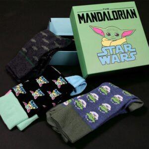 Coffret Chaussettes Mandalorian Star Wars