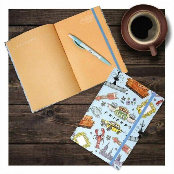 Set Carnet de Notes et Stylo Friends