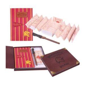 Set Papeterie Harry Potter Carte Maraudeur