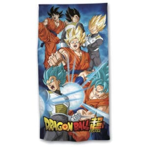 Serviette de plage Dragon Ball Super Saiyan