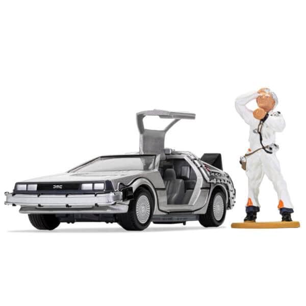 Figurine Delorean Doc Brown Retour vers le futur