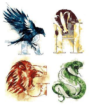 Les maisons de Poudlard - Harry Potter