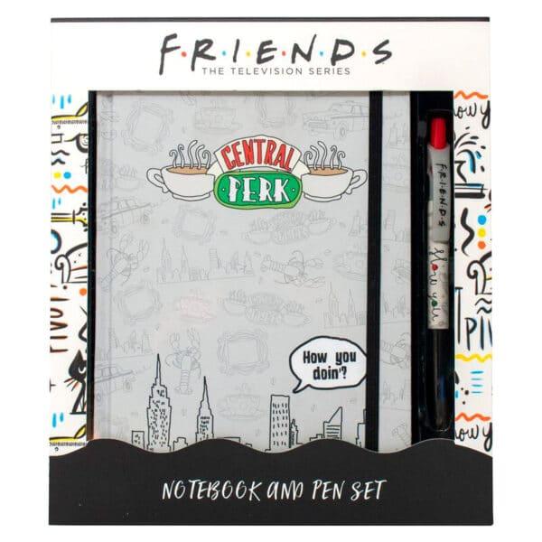 Carnet Friends avec stylo