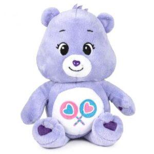 peluche bisounours 20cm violet