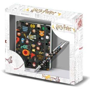 Carnet Harry Potter Leviosa et son stylo